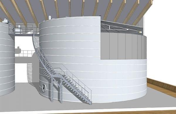 Trinkwasser Behaelter Modell - Lipp System