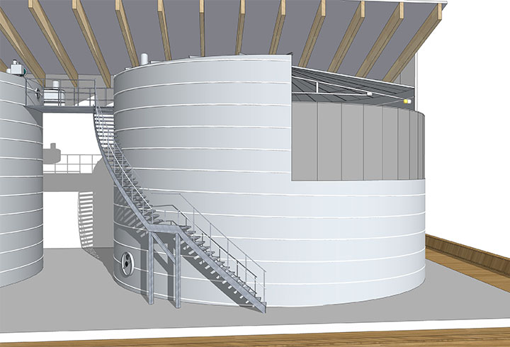 Drinking Water Tank Model - Lipp System