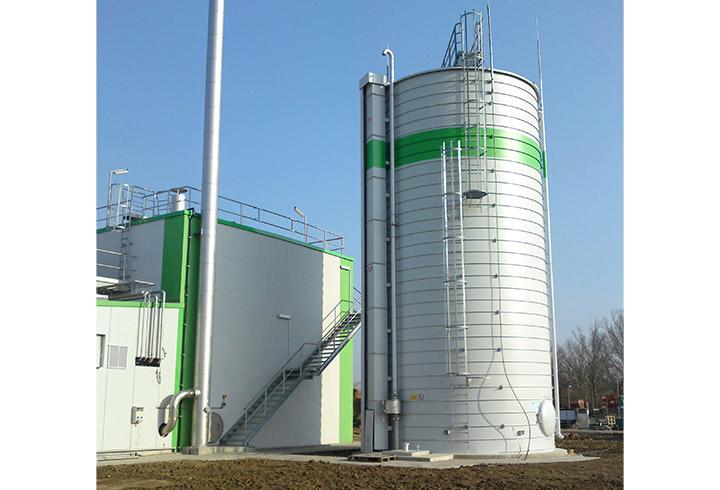Gas Storage Tank - Lipp System