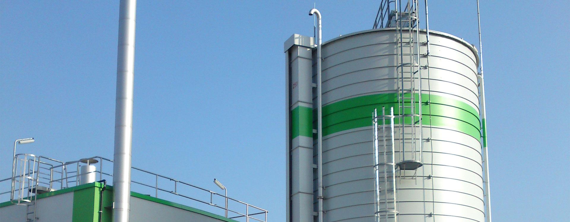 Gasspeicher Drucklos Behälter - Lipp System