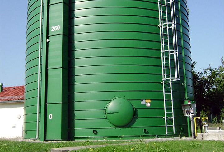 Gas Storage Municipality - Lipp System