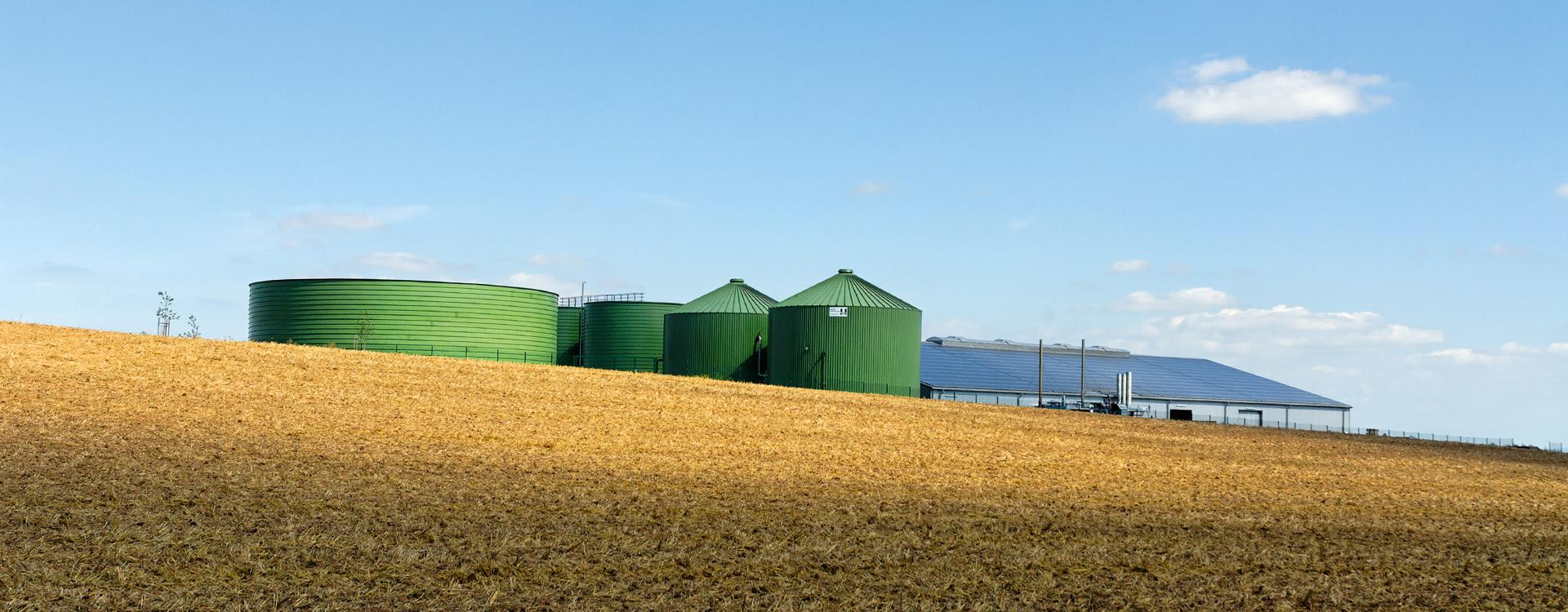 Landwirtschaft Biogas - Lipp System