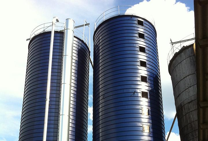 Landwirtschaft Gaerfutter Silo - Lipp System
