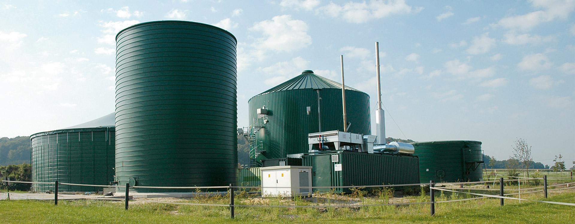 Biogas Anlage - Lipp System