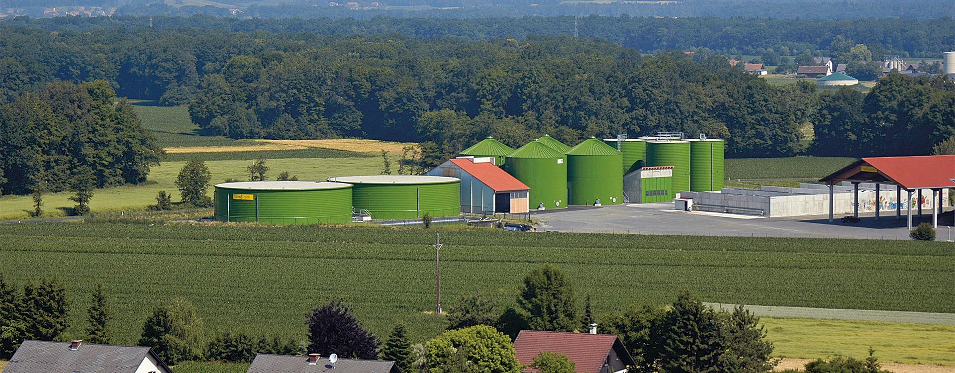 Biogasanlage Anlagenbau - Lipp System