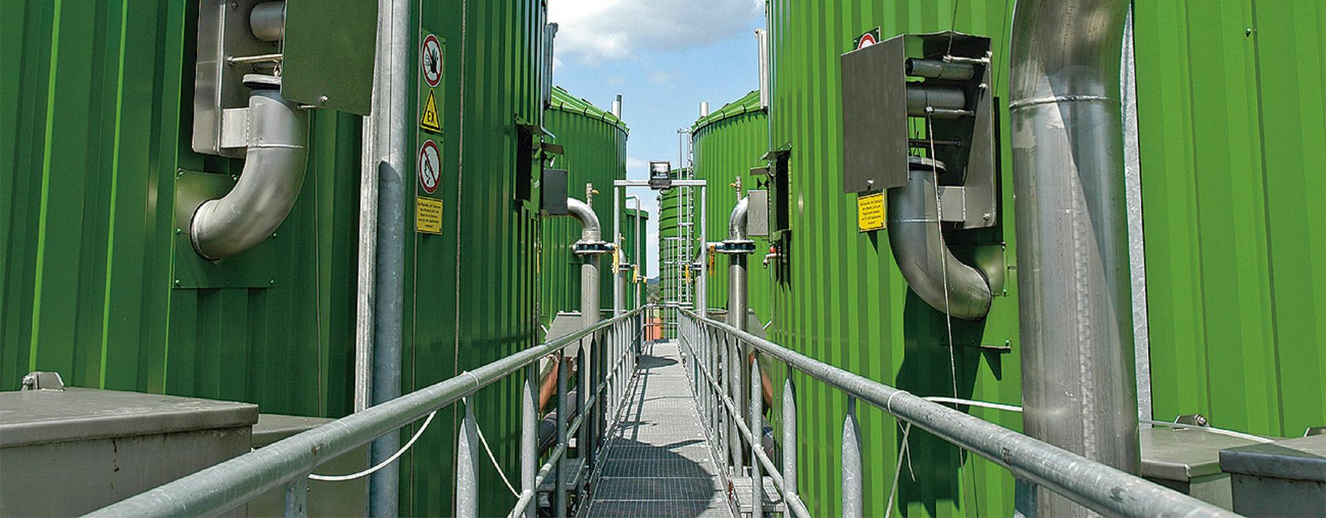Lipp Biogasanlage Industrie