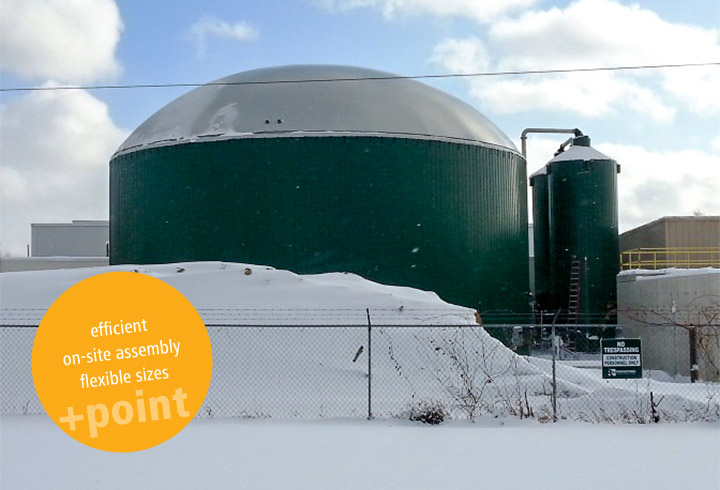 LIPP Eco Digester with a volume of 2740m³