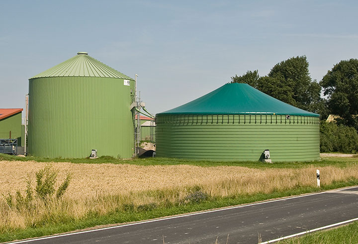 Covered Slurry Container - Lipp-System