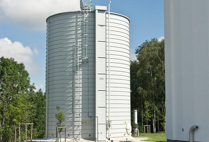Lipp kommunale Gasspeicherung drucklos