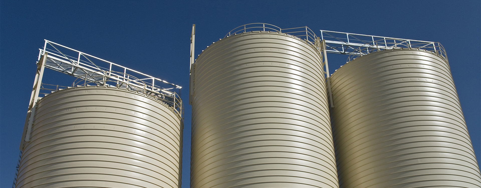 Getreidesilo Montage - Lipp System