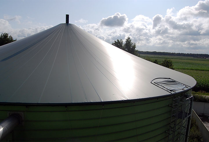 Slurry Container with roof - Lipp-System