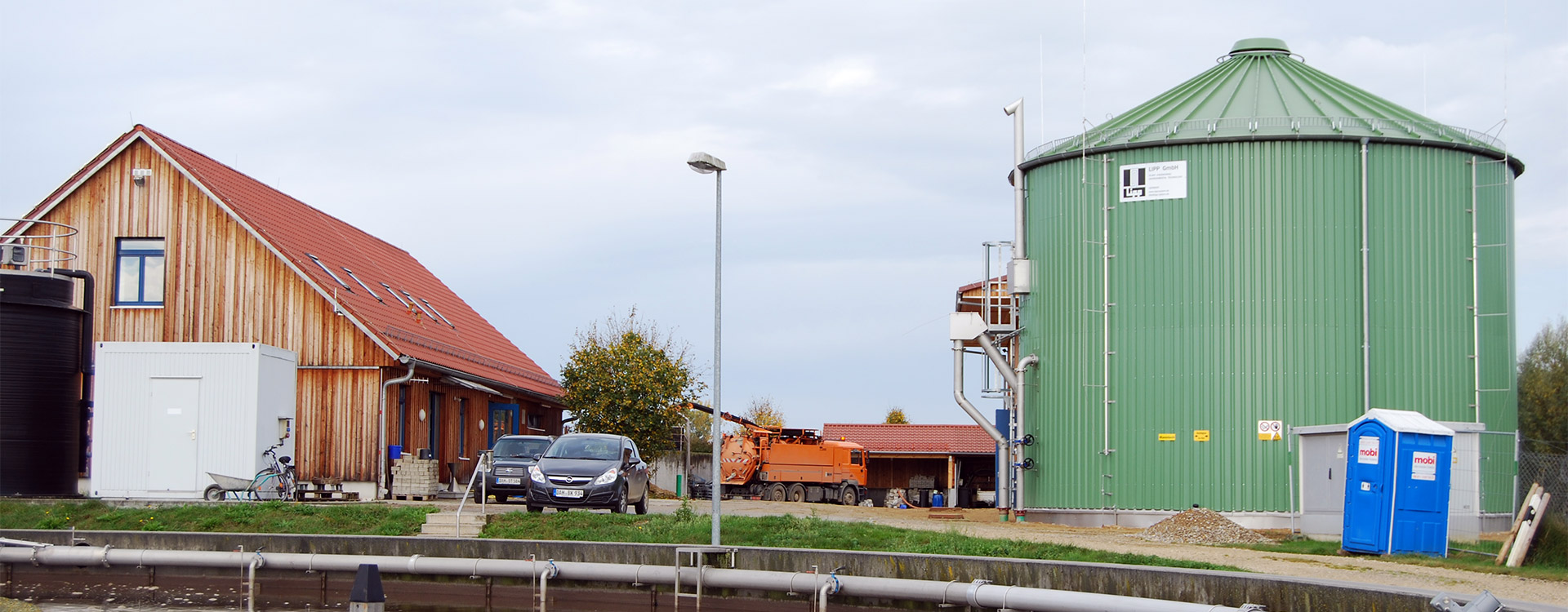 Industrie Abwasseraufbereitung - Lipp System