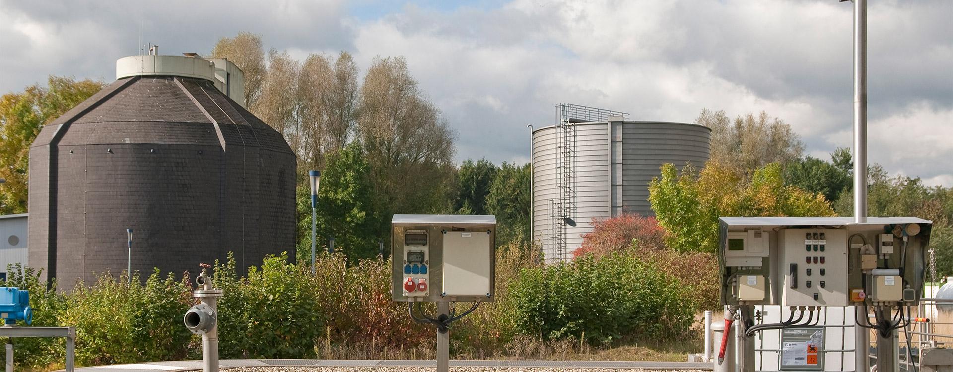 Kommunen Gasspeicher - Lipp System