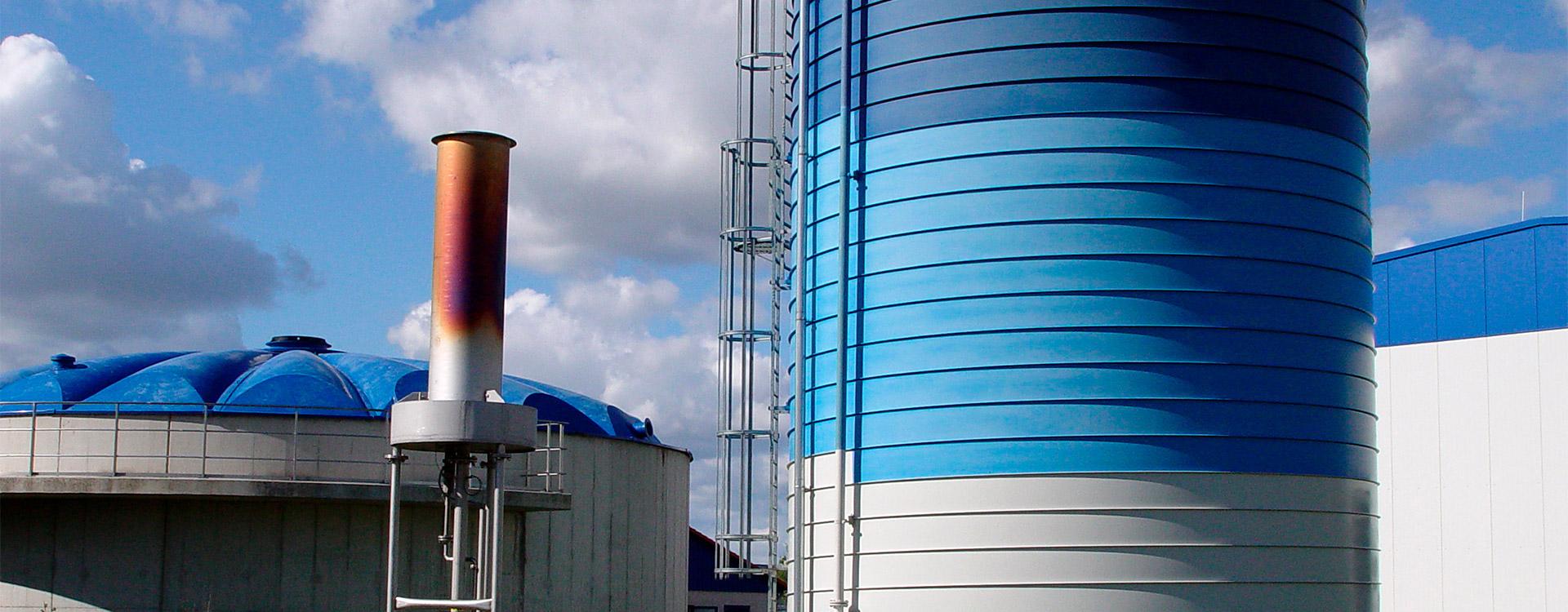 Kommunen Gasspeicherung - Lipp System