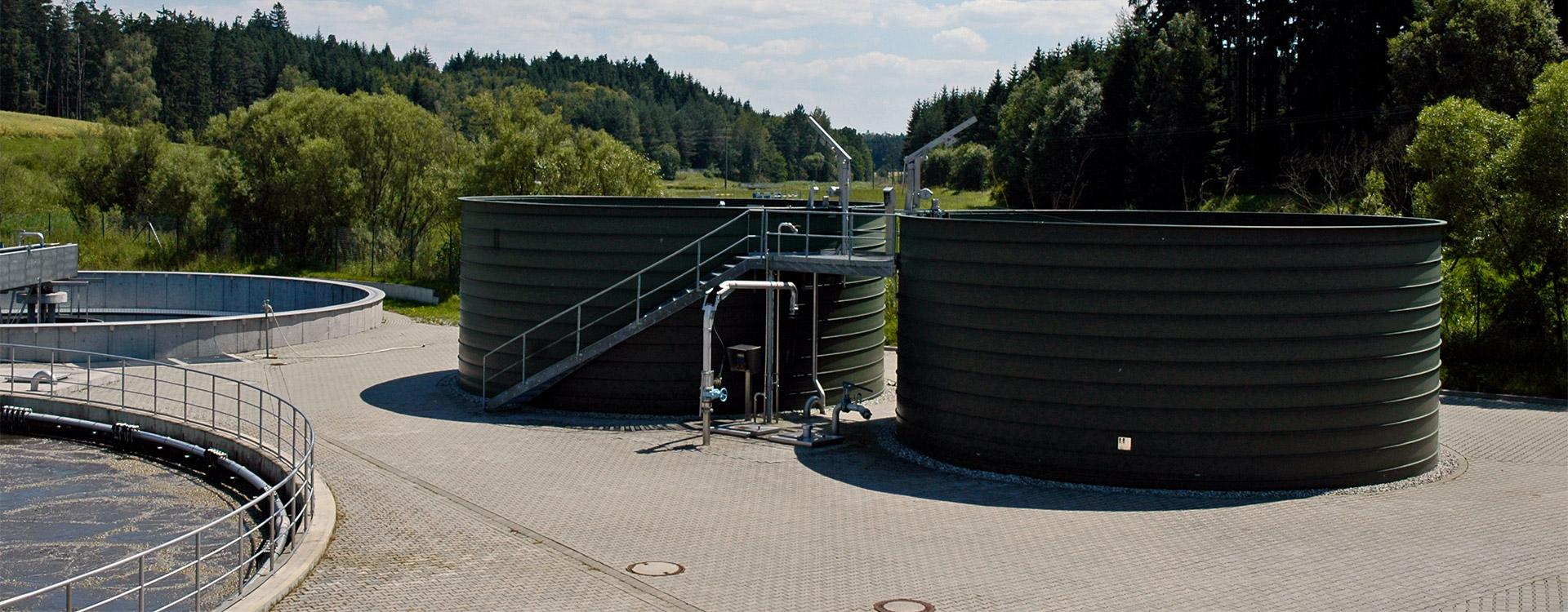Kommunen Schlammstapelbehaelter - Lipp System