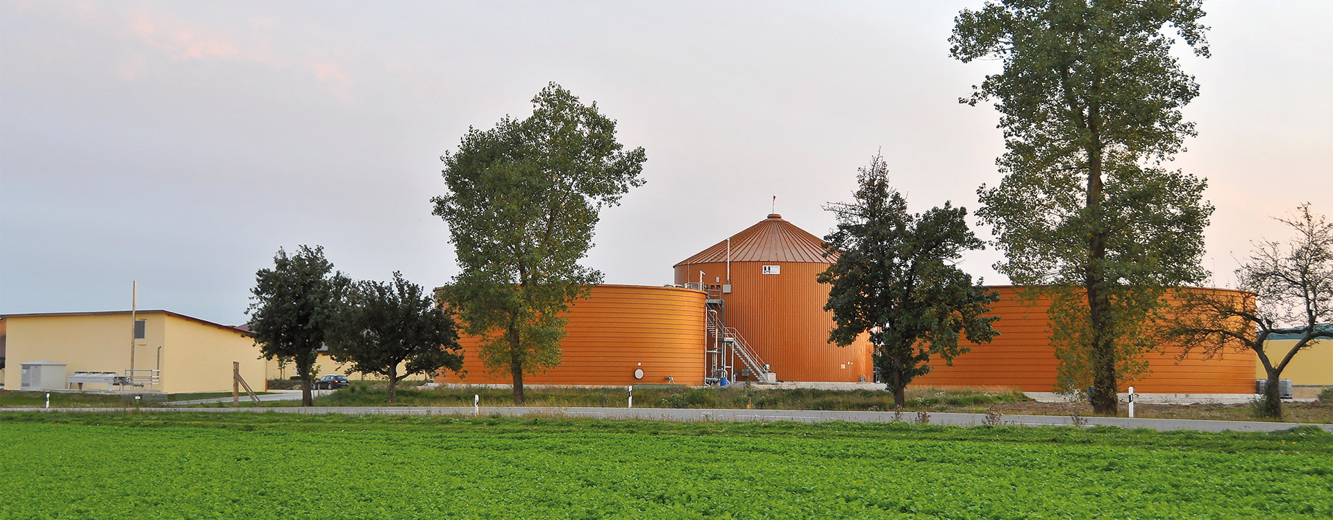 Biogas Plant Agriculture - Lipp System