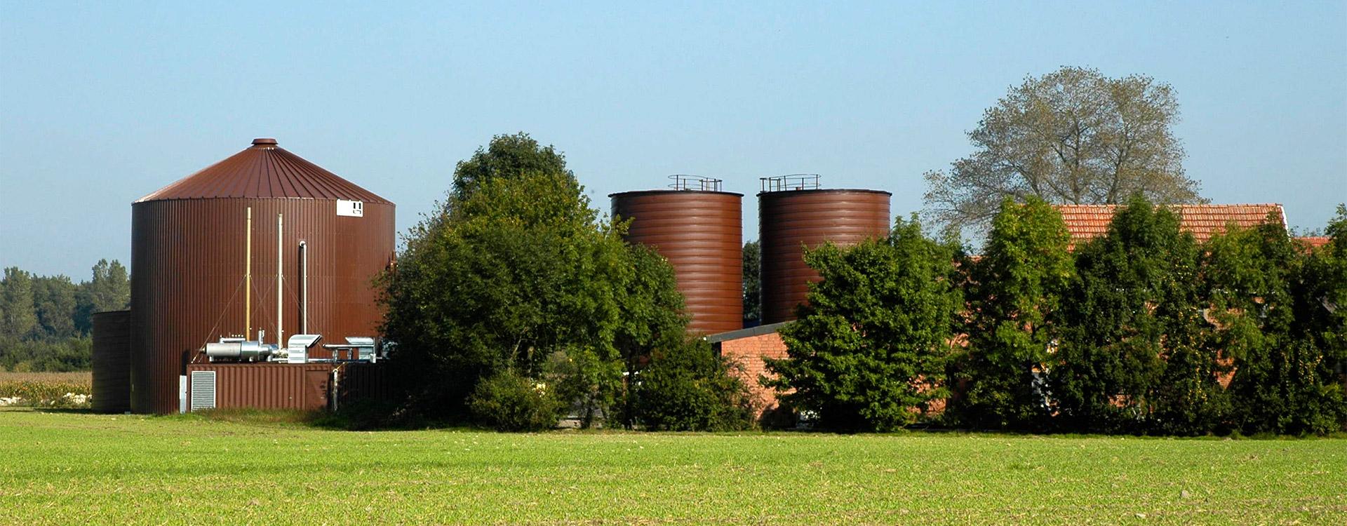 Landwirtschaft Biogasanlage - Lipp System