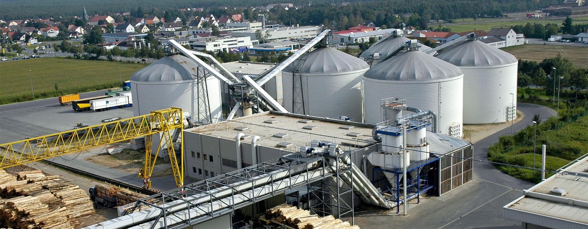 Schuettgutsilo Industrie - Lipp System