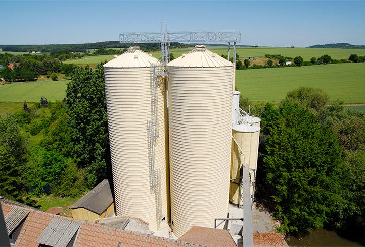 Grain Silo Plant - Lipp System