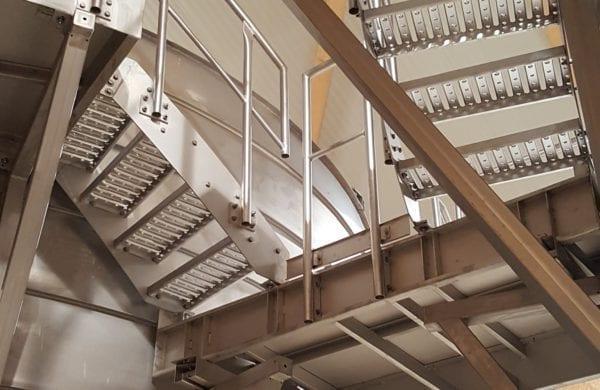 LIPP Trinkwasserbehälter - Manteltreppe