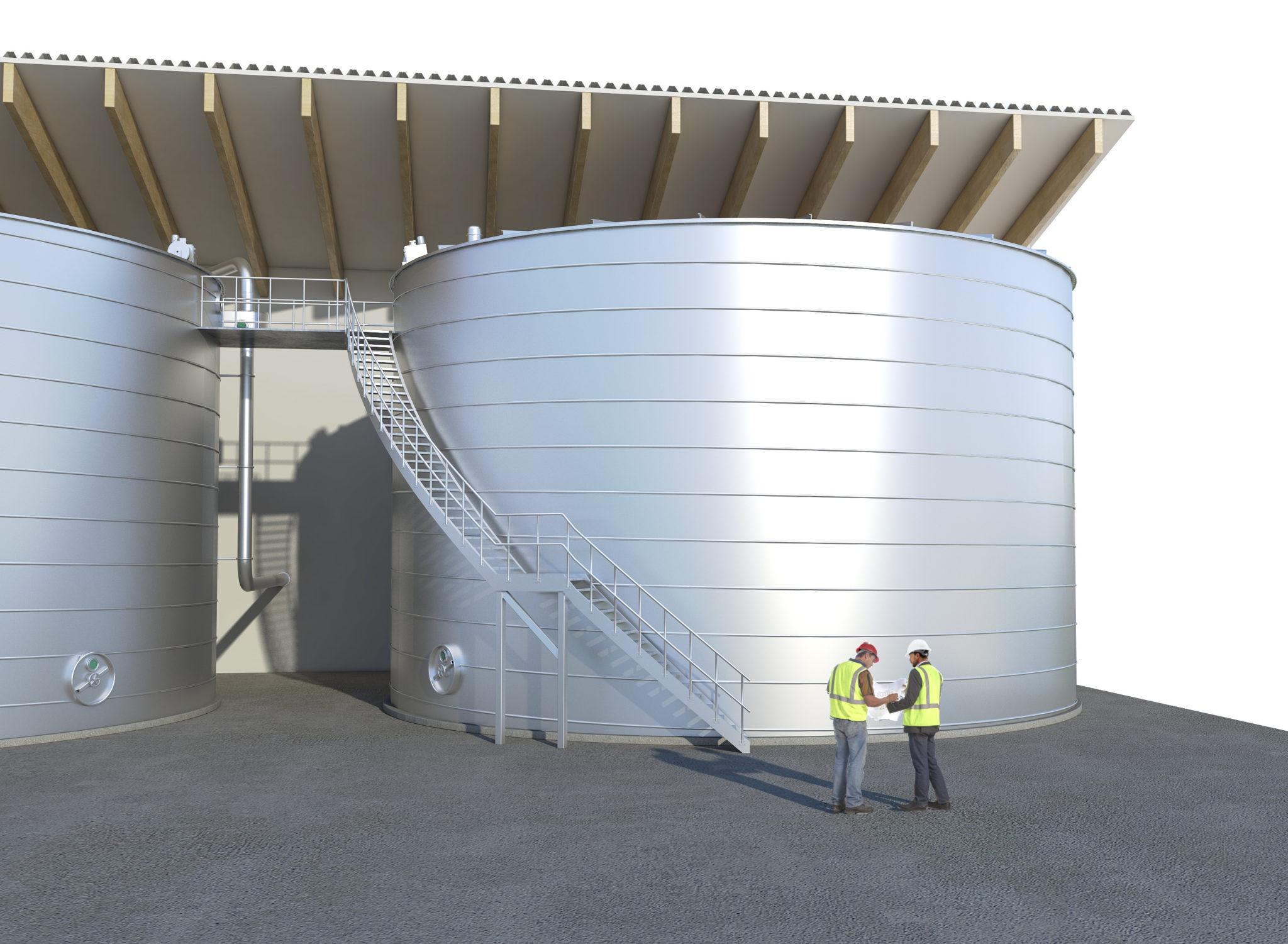 Trinkwasser Behaelter - Modell LIPP-System