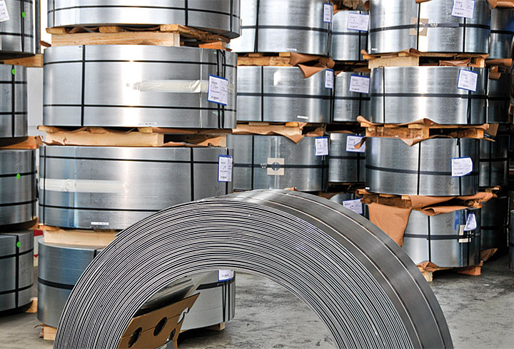 LIPP Werkstoffe Stahl - Lipp System