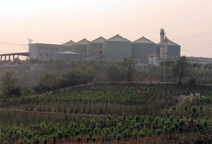 Lipp KomBio-Reaktor Projekte Kommune Dalian - Lipp Projekte