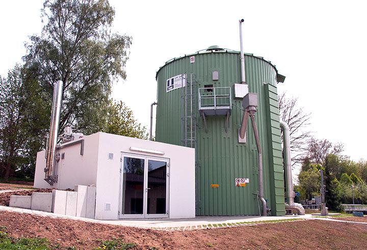 Lipp Biogasanlagen Projekte Kommune Magstadt - Lipp Projekte