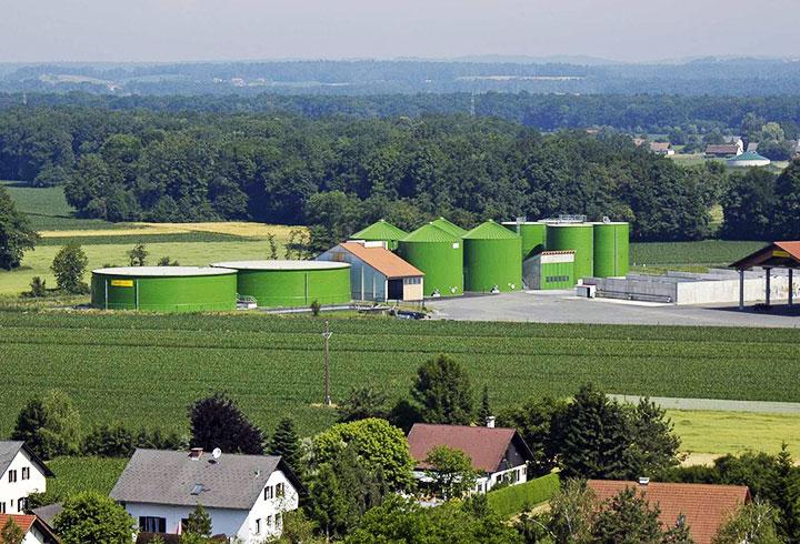 Lipp Projekt Biogasanlagen Landwirtschaft Mureck - Lipp Projekte