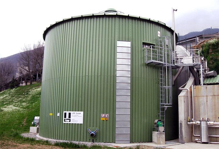 Lipp Biogasanlagen Projekte Landwirtschaft Sulzano - Lipp Projekte