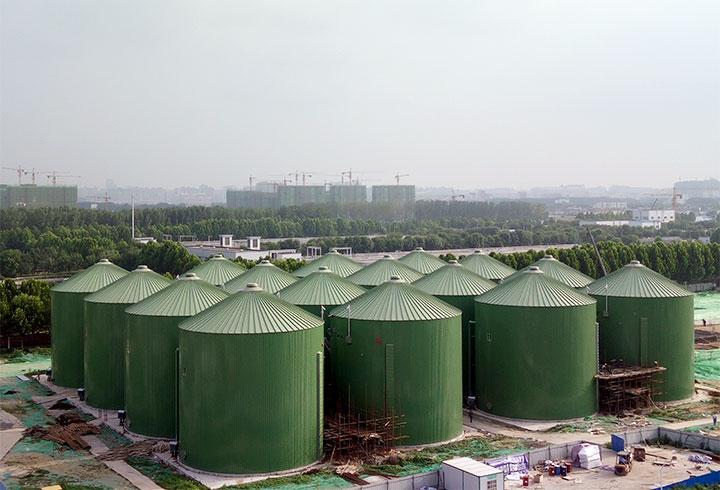 Projekt Biogasanlage Kommune Zhenzhou - Lipp Projekte