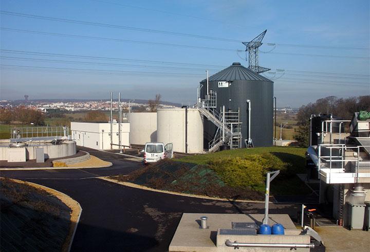 Lipp KomBio-Reaktor Kommune Folschviller - Lipp Projekte