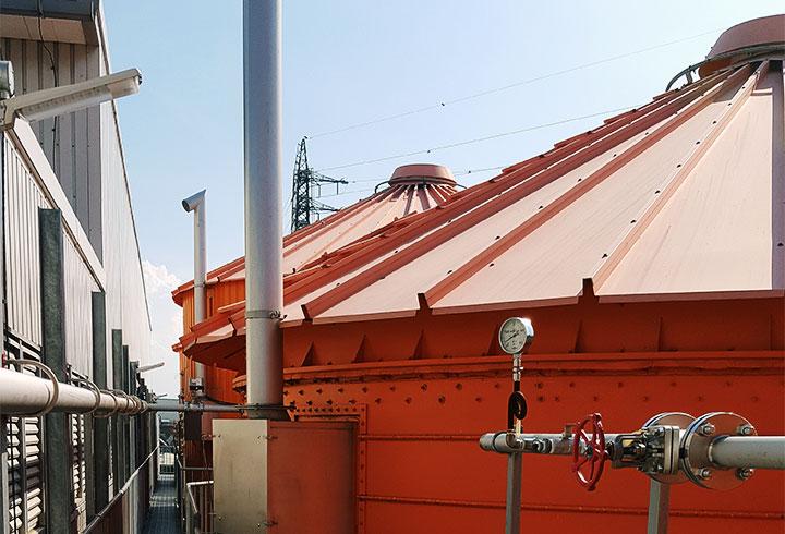 Lipp Biogasanlagen Projekte Industrie Canpack - Lipp Projekte