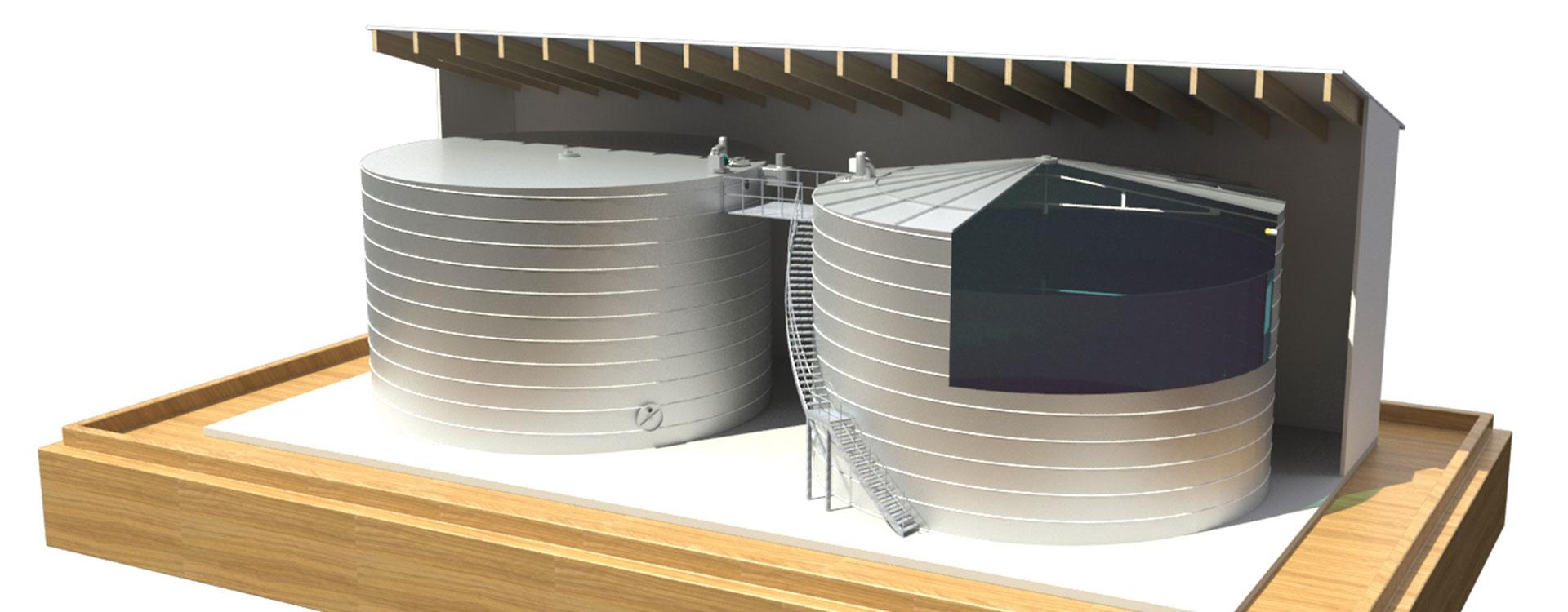 Trinkwasser Anlage Kommunen - Lipp System