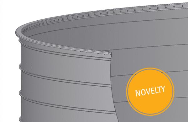 Welded Tanks Novelty - Lipp System