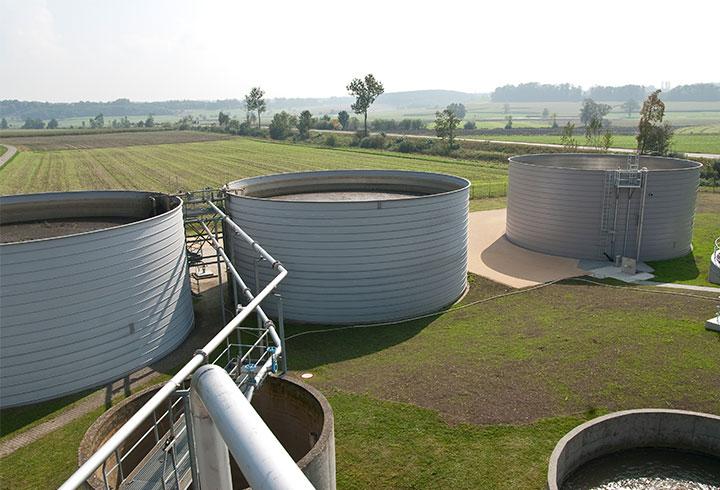 Liquid Storage Tanks - Lipp System