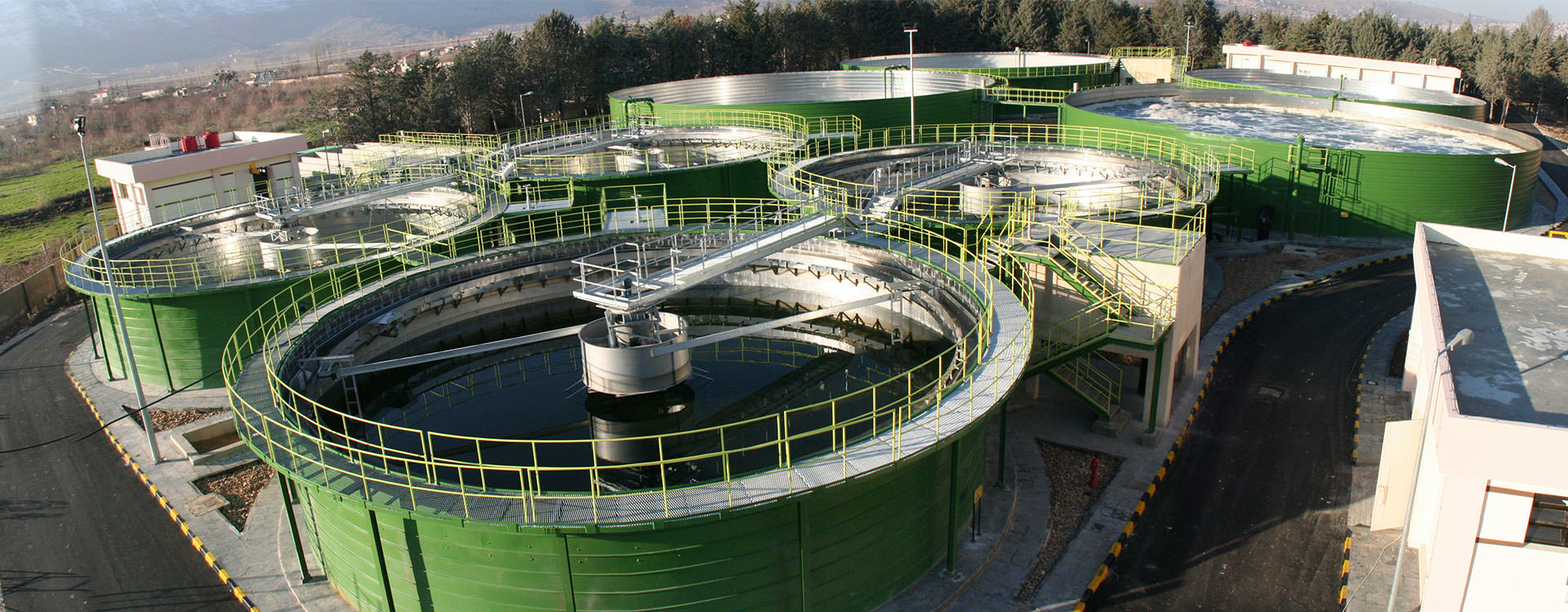 Lipp plant waste-water