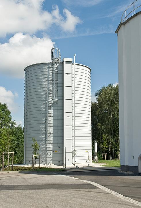 Lipp Gasspeicher drucklos - Lipp GmbH