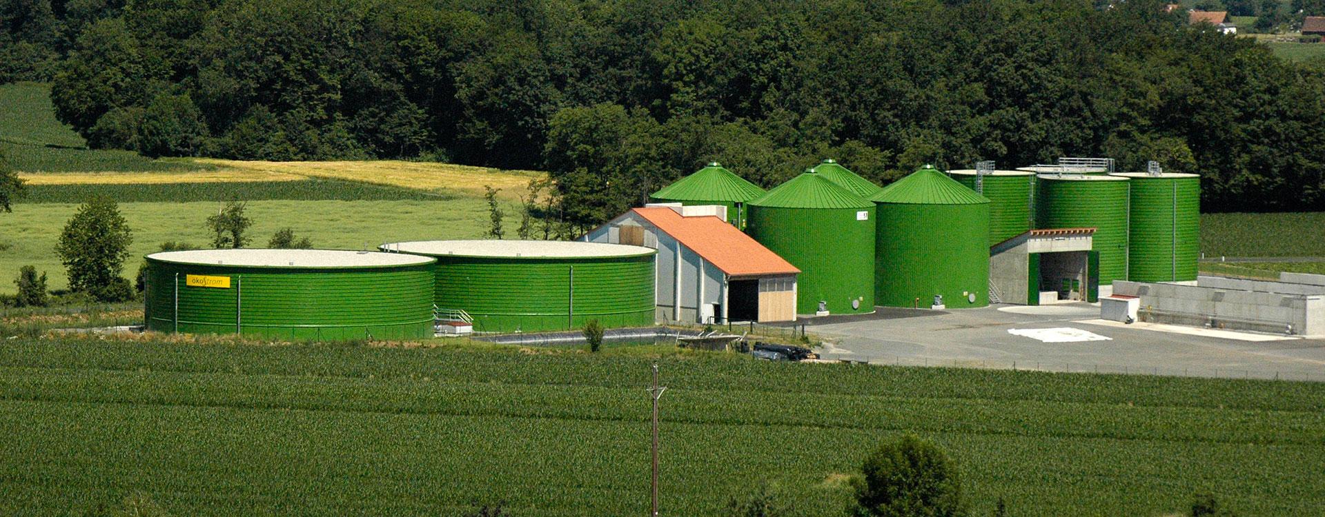 Liquid Manure Tank Roof - Lipp System
